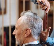 Senior Hair Cut